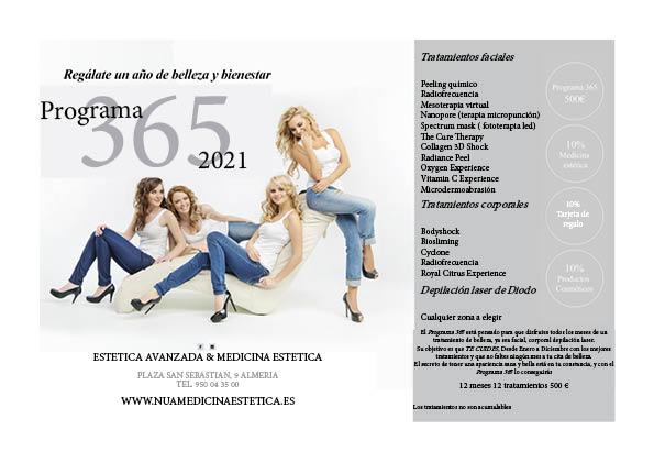 Programa 365 foto y tratamientos
