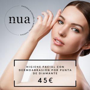 Higiene Facial con Dermoabrasión